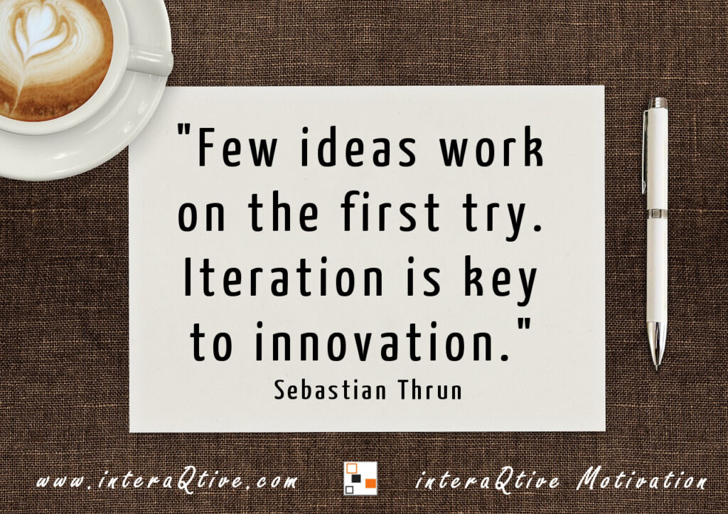 Bringing ideas into action - #MondayMotivation
