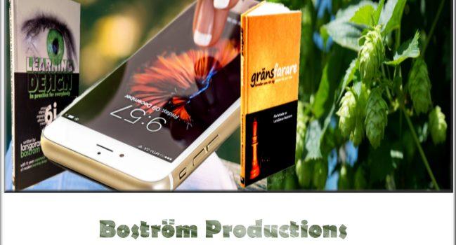 Företaget byter namn till Boström Productions